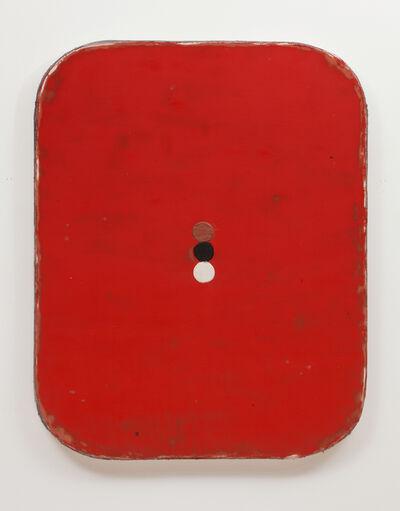 Otis Jones, 'Red with three circles', 2014