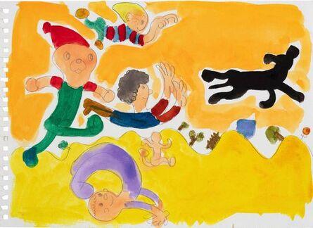 Song Ta 宋拓, 'Running Kids', 2002