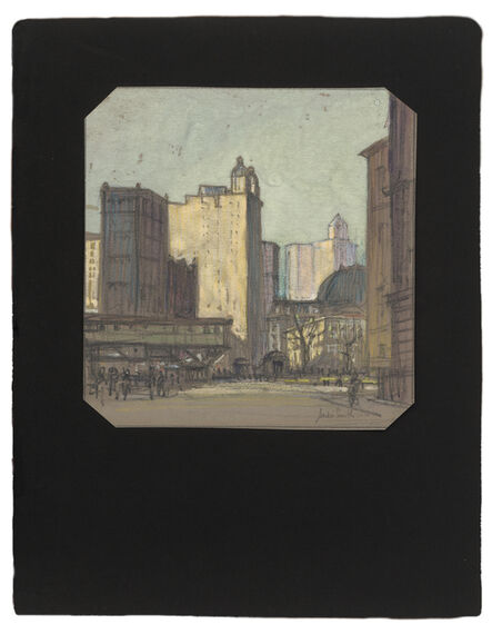 Jules Andre Smith, 'A View of Lower Manhattan Featuring the Park Row Building (1899)', ca. 1915