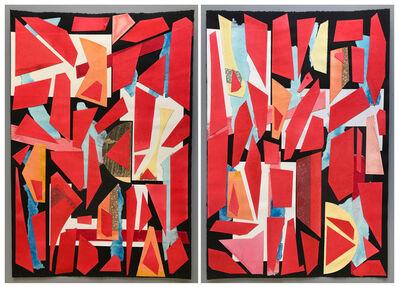 Bevan de Wet, 'Composition No.51 & No.52', 2020