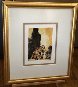 Louis Icart, 'Shackled Soul', 1928