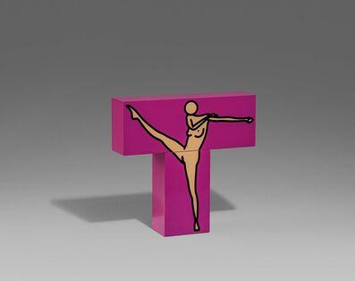 Julian Opie, 'Caterina Dancing (10, pink)', 2010