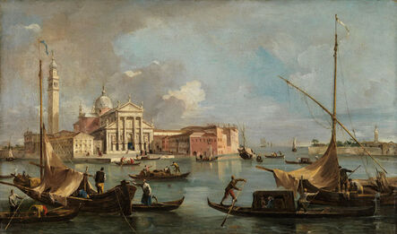 Francesco Guardi, 'View of San Giorgio Maggiore ', ca. 1760