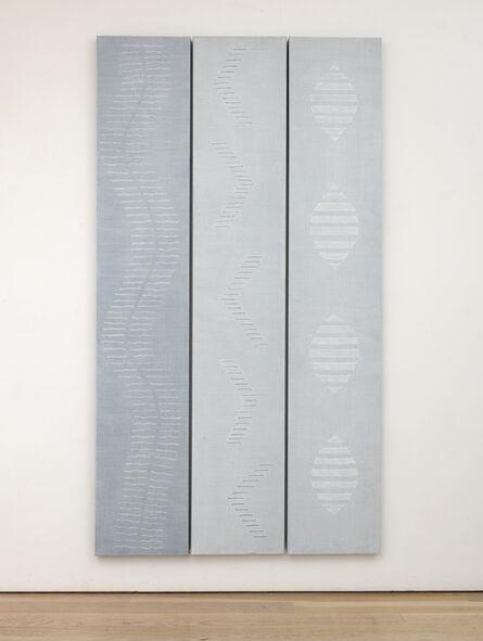 Edda Renouf, 'Sounds Rising (triptych)', 2010-2016