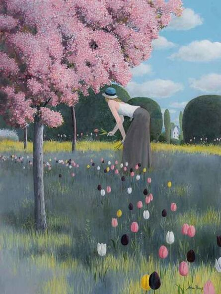 Alan Parry, 'Tulip Walk', 2018