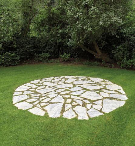 Richard Long, 'White Marble Circle', 1982