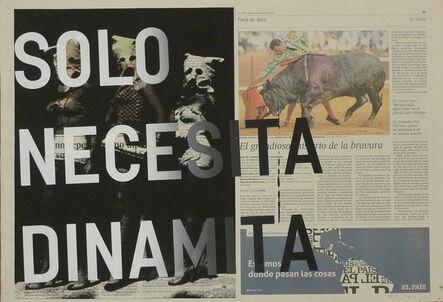 Rirkrit Tiravanija, 'Solo necesita dinamita', 2015