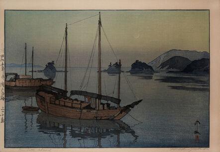 Yoshida Hiroshi, 'Three Little Island', 1930