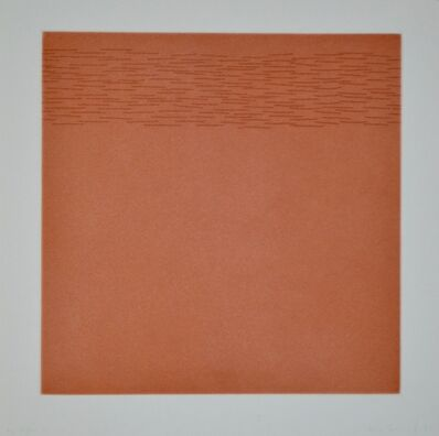 Edda Renouf, 'Clusters (Plate 2)', 1976