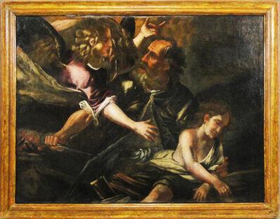 Italian School, 'Sacrifice of Isaac', 17th century