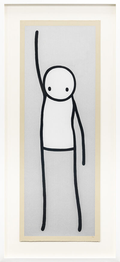 Stik, 'Liberty (Silver)', 2013