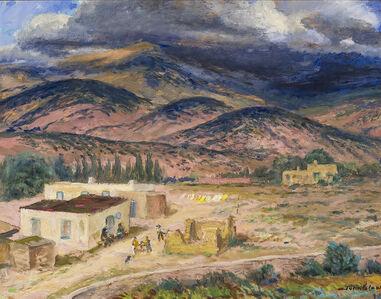 John Sloan, 'Landscape, Santa Fe ', 1925