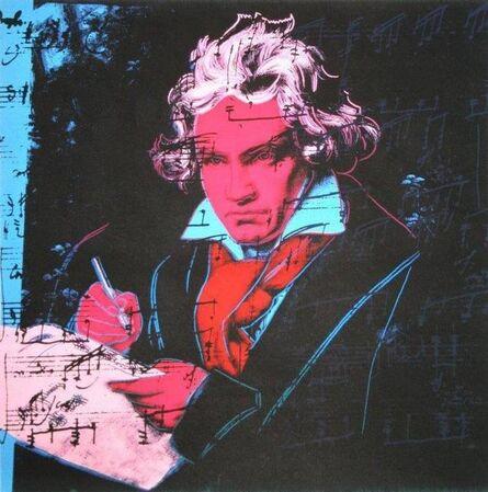 Andy Warhol, 'Beethoven', 1987