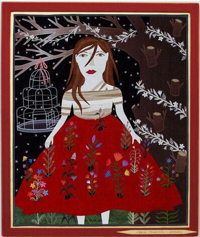 Chris Roberts-Antieau, 'Flowered Dress'