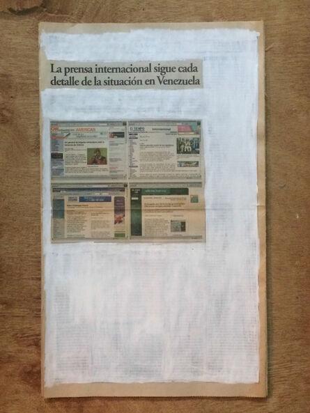 Marco Montiel-Soto, 'La verdad no es noticia. La prensa internacional sigue cada detalle de la situación en Venezuela', 2016