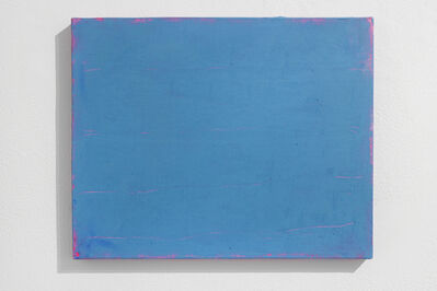 Sérgio Sister, 'Azul sobre rosa fluo (Blue over rose)', 2015