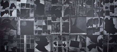 Subhakar Tadi, 'Broken window (Melting Watch)', 2008