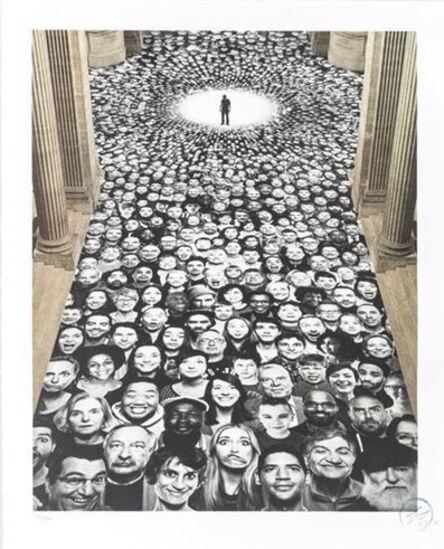 JR, 'Inside Out, Au Pantheon, NEF, Paris, France', 2014