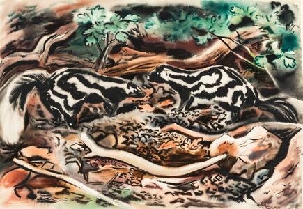 Vance Kirkland, 'Two Scents in the Wilderness'