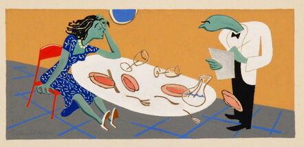 Charles Keller, 'untitled', 1946