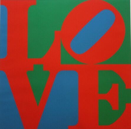 Robert Indiana, 'LOVE (the original), 39, Sheehan', 1967