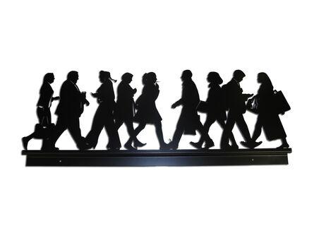 Julian Opie, 'City Walkers 2', 2014