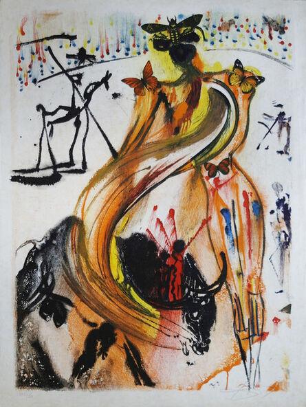 Salvador Dalí, 'Bullfighter', 1972