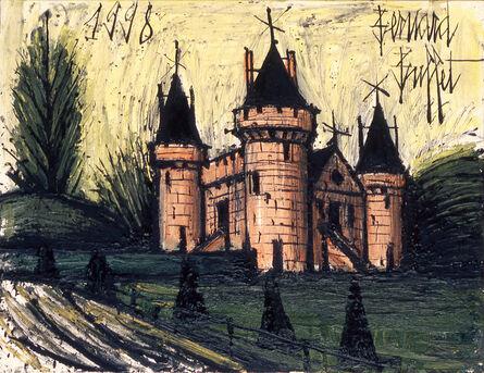 Bernard Buffet, 'Le Château fort rose', 1998