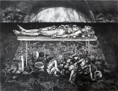 Freya Payne, 'The potato field series, mother-cairn', 2011
