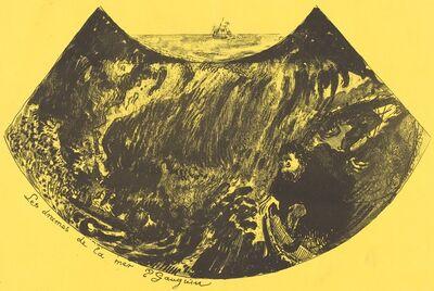 Paul Gauguin, 'Dramas of the Sea: A Descent into the Maelstrom (Les drames de la mer)', 1889