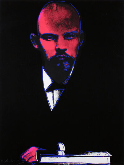 Andy Warhol, 'Black Lenin (FS II.402)', 1987