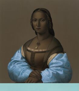 Mary Waters, 'Woman with Blue Sleeves', 2013