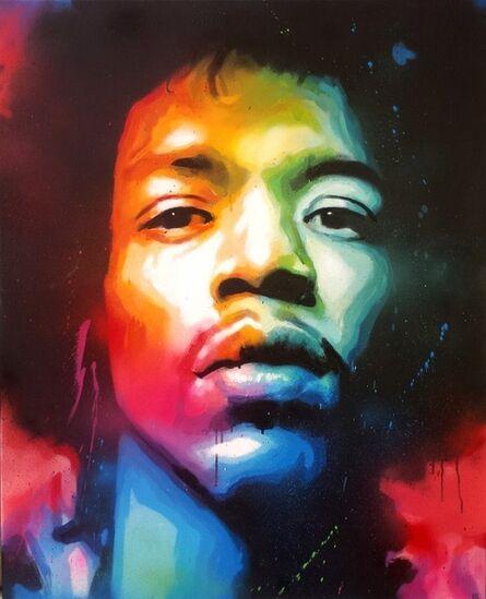 Axe Colours, 'Jimmy Hendrix', 2017
