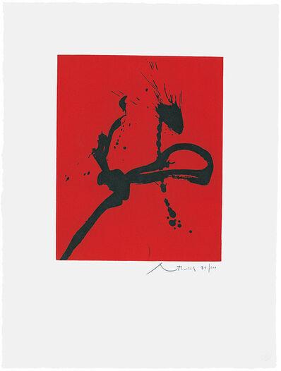 Robert Motherwell, 'Gesture IV  ', 1976-1977