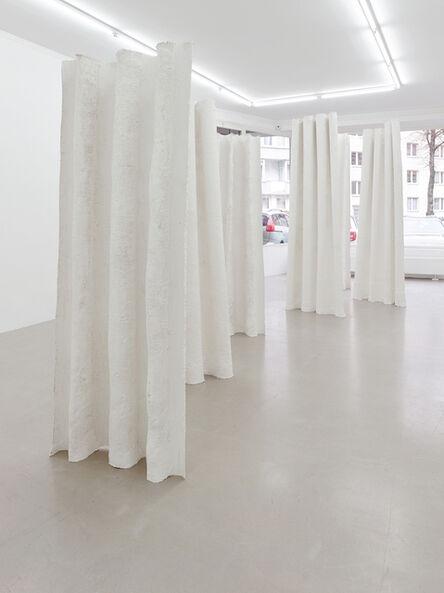 Inge Mahn, 'Stehende Vorhänge (Standing curtains)', 2017