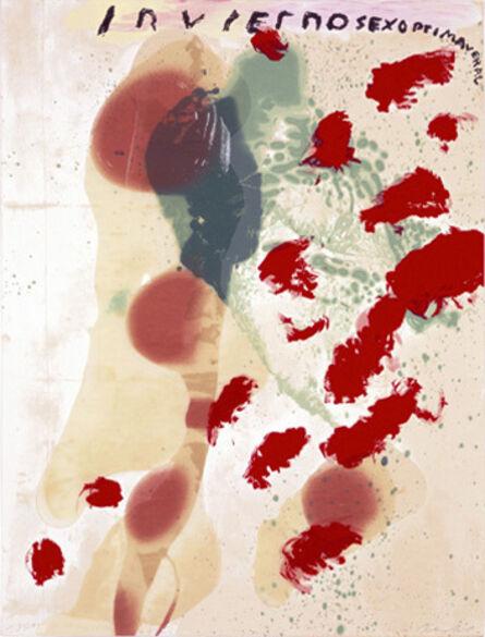 Julian Schnabel, 'Inviernosexoprimaveral', 1995