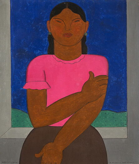 Carlos Merida, 'Indigenous Woman', 1926