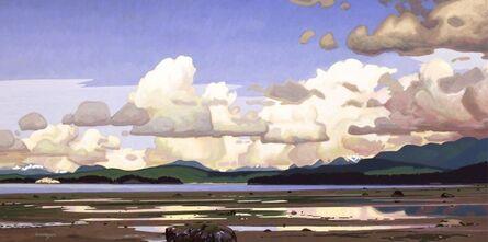 Clayton Anderson, 'Thunderheads Over Desolation Sound'