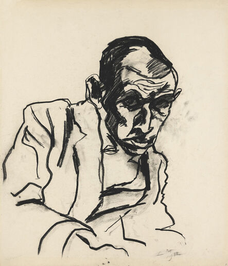 Ludwig Meidner, 'Simon Guttmann', 1912