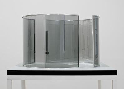 Dan Graham, 'Two Half-Cylinders Off-Aligned, edition 1/3', 2000