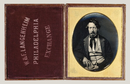 William Langenheim, 'Portrait of Frederick Langenheim', ca. 1848