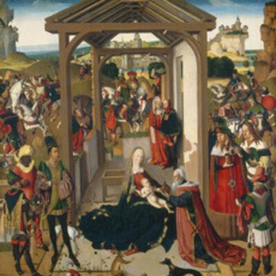 'The Adoration of the Magi', fourth quarter 15th century