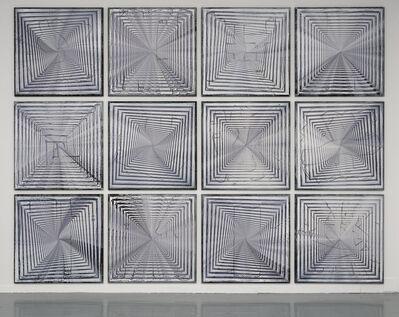 Ianick Raymond, 'Peinture décalée (1 à 12)', 2020