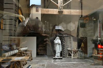 Francis Olschafskie, 'Box Hat Man - Florence, Italy', 2016
