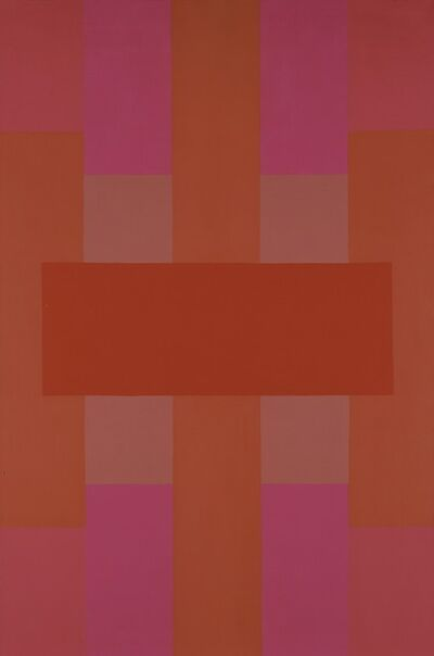 Ad Reinhardt, 'Red Abstract', 1952