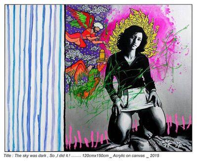 Shaghayegh Shojaian, 'The sky was dark, So, I did it!', 2015