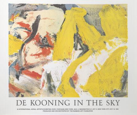 Willem de Kooning, 'In the Sky', 1982