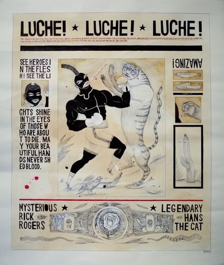Lawrence Lee, 'Luche!', 2011