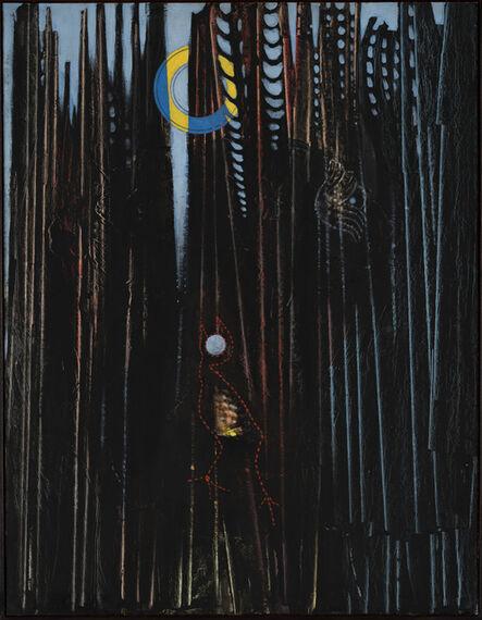 Max Ernst, 'Forêt, soleil, oiseaux ou Le chant à la lune', 1927