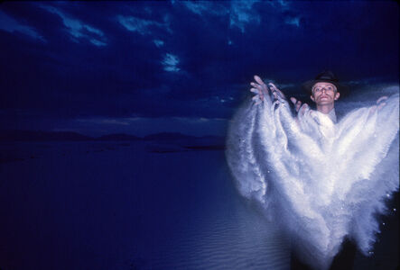 Brian Duffy, 'David Bowie: Thin White Duke, White Sands, New Mexico.', 1976